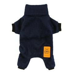 CuteBone Dog Sweater Turtleneck Knitted Coat for Pet Clothes, Jumpsuit DS02