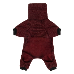 CuteBone Dog Sweater Turtleneck Knitted Coat for Pet Clothes, Jumpsuit DS04